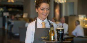 Room Service at Maldron Hotel Kevin Street Dublin