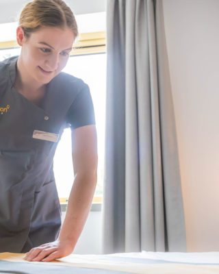 Housekeeping in Dublin Hotel
