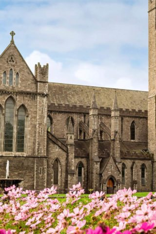 View of St. Patrick's Cathedral Dublin