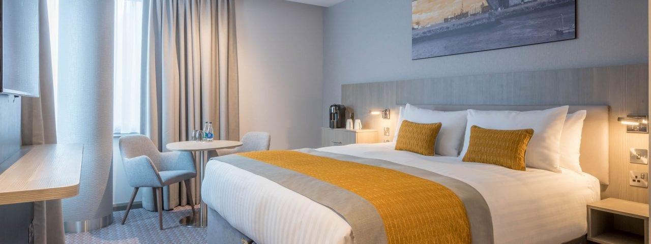 Bedroom at Maldron Hotels