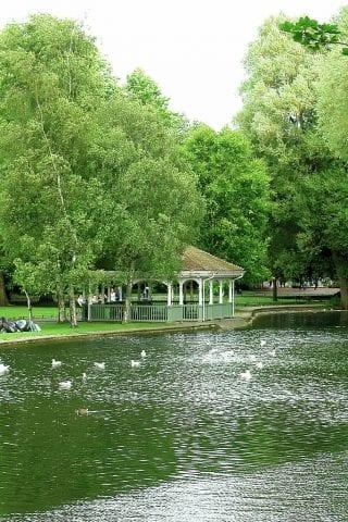 St Stephen's Green Park Dublin